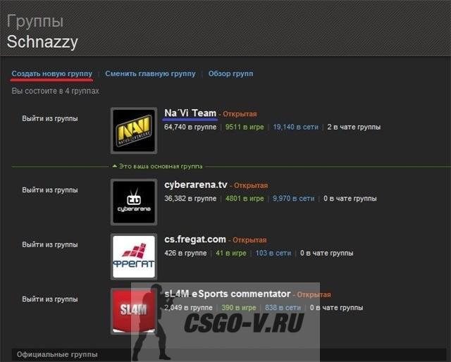 Как сделать клан на стиме - 3dfuse.ru