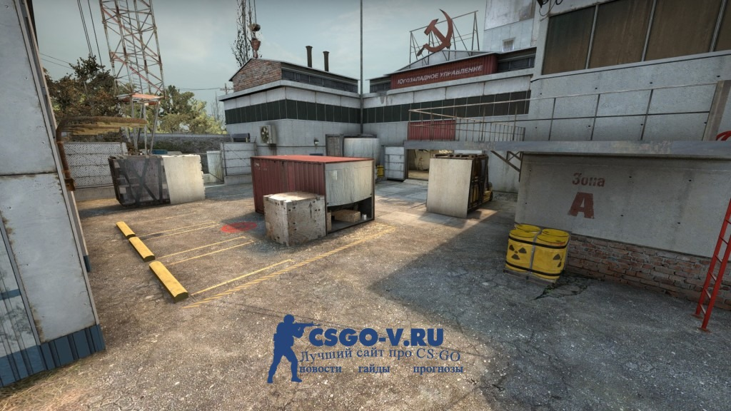 Карта Cache CS:GO