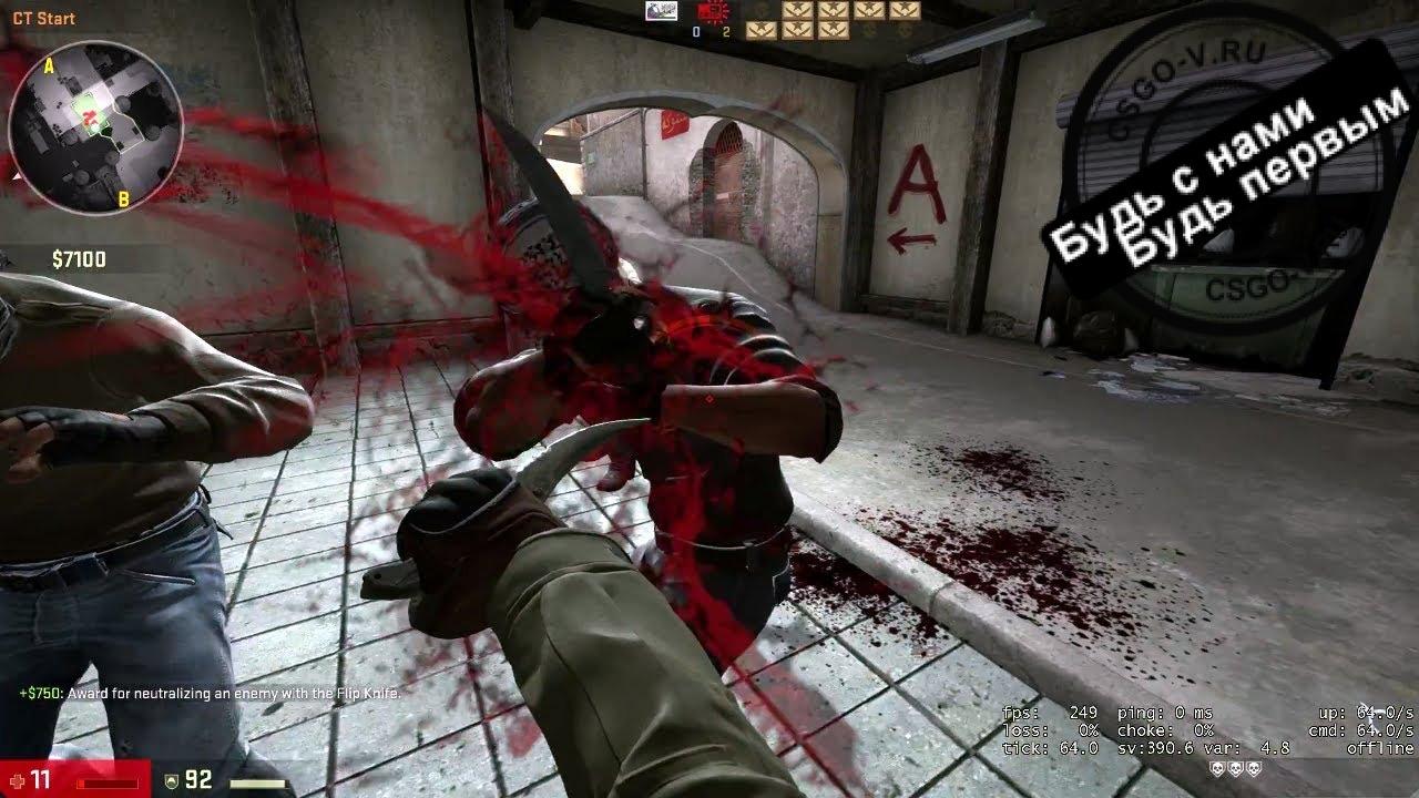 """Плагин """"Ножевая дуэль"""" для сервера CS GO"""