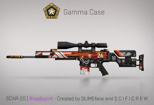 SCAR-20 Blood Sport