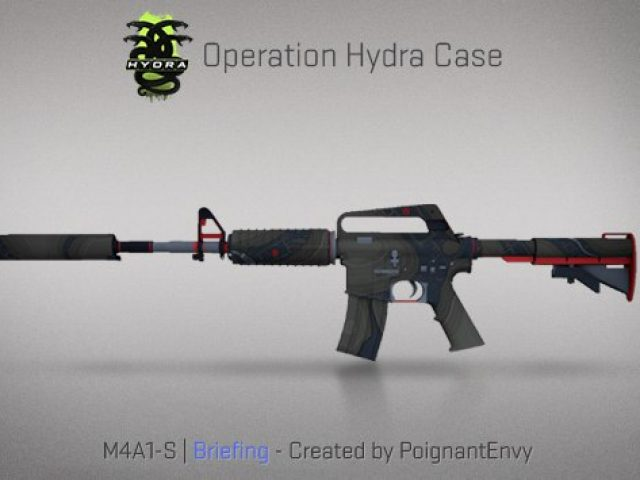 M4A1-S Briefing