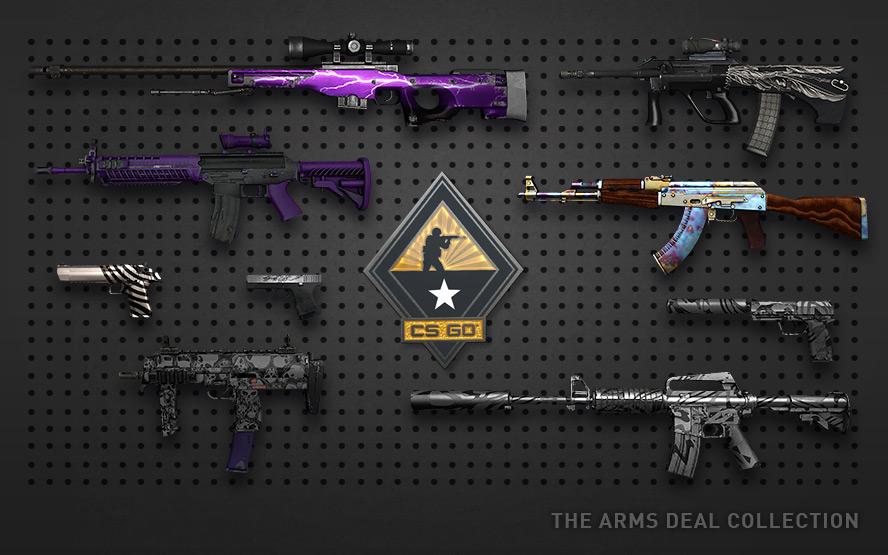 Дешевые скины КС ГО – красивый дизайн оружия
